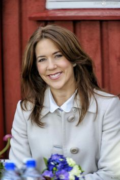 """Crown Princess Mary as Patron visited """"Home"""", a residence for children and young people, in Hundested"""
