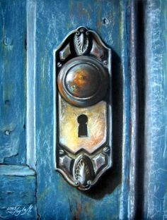 Close your eyes and try to see what is behind this blue and dreaming doors....dont be afraid