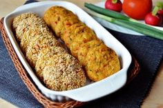 Chifteluțe de legume la cuptor Egg Free Recipes, Veggie Recipes, Indian Food Recipes, Cooking Recipes, Healthy Recipes, Veggie Food, Healthy Food, A Food, Good Food