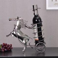 OurSanli:: Creative Gentleman Carriage Decorative Wine Racks - Decorative Wine Racks