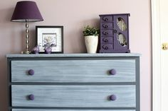 Gray-Washed Dresser | Chalk Paint Ideas for Rustic Home Decor