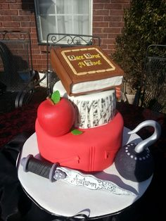 """Autumn's Sweet 16 Cake """"Once Upon A Time"""""""