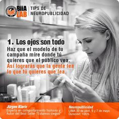 Tips de #Neuropublicidad. #Neuromarketing ;)