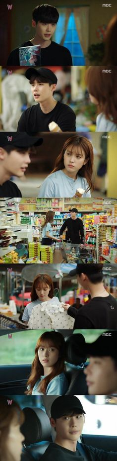 [Spoiler] 'W' Lee Jong-suk discovers his identity in relationship with Han Hyo-joo @ HanCinema :: The Korean Movie and Drama Database