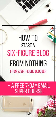 How to start a money making blog in 2018. How to start a blog and make money from it for beginners. #startablog #blogging #budgeting