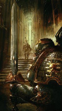 inoxhammer: Watch Fortress Eriochby Columbussagehttp://columbussage.deviantart.com/art/Watch-Fortress-Erioch-254506817 Warhammer Pendants Shop - https://www.etsy.com/shop/InoxHammer