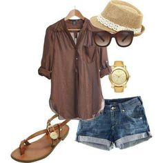 Riviera Maya outfit? I have jean shorts that are similar. Like this look.