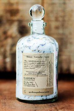 Balsam Lavender Lotus Bath Salts // Organic by GardenApothecary, $22.00