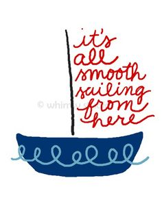 smooth sailing | Whimsy Studios via Flickr