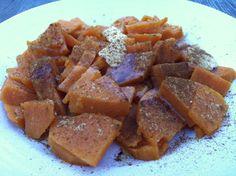 Cinnamon Ginger Sweet Potatoes #primal