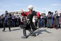 Cossack Village-Moscow festival