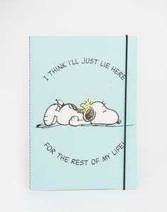 Image 1 of Peanuts A4 Snoopy Notebook