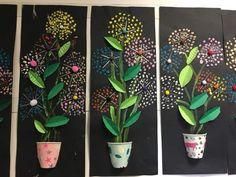 Great Cost-Free Blossoms art Ideas Cherry Blossoms are generally the most wonderful plants, being released shiny colors. Your Cherry Gr Spring Art Projects, School Art Projects, Spring Crafts, Art School, First Grade Art, Ecole Art, Art Lessons Elementary, Mothers Day Crafts, Preschool Art