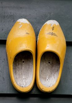 klompen uit nederland #wooden shoes!