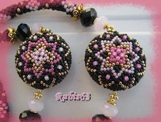 beaded bead  rose