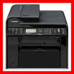 CANON ImageCLASS MF4770N Printer w/ NEW Toner / Drum - Totally CLEAN! - REFURB !
