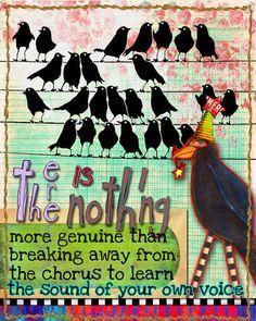 Art Journal Caravan 2012 Highlights of Week 10: Page by Artgirl