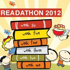 Are you joining Readathon 2012? June 18th - July 28th #readforgood