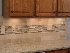 Wondrous Brown Ceramic Kitchen Back Splash Mixed Match Sticks Tile Ceramic Tile For Kitchen Backsplash