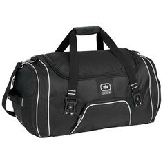 OGIO RAGE DUFFLE BAG. Engineered to hold enough for days of serious travel with a a wide opening and a huge cargo compartment. #ogio #employee #recognition #onetouchpoint