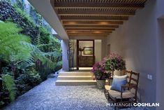 Tranquil and relaxing outdoor area/patio by MARIANGEL COGHLAN
