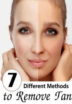 7 Best Different Methods to Remove Tan