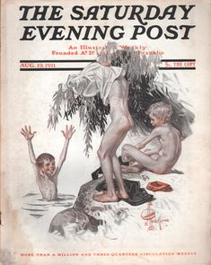 SATURDAY EVENING POST AUGUST 19TH, 1911