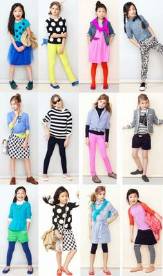 I want pretty: #Look- #Kids!