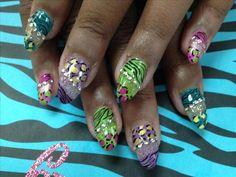 73 Best Crazy Nail Art Images On Pinterest Nail Art Designs