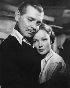 Clark Gable and Gene Tierney in the Movie 'Never Let Me Go'