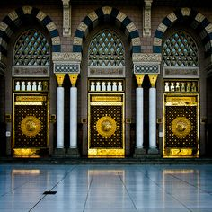 Nabawi Mosque - Main gates