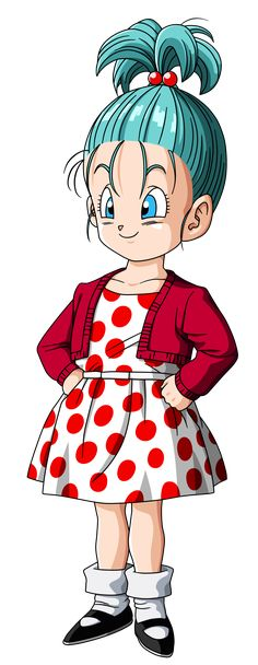 Bra: Es la segunda hija de Bulma y Vegeta