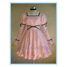 Mirai Nikki Uryuu Minene Pink Cosplay Lolita Dress