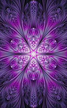 Ultra Fractal 5 For La-fi's Purple contest - I would like to thank anyone who faves my work ahead of time. Art Fractal, Fractal Images, Fractal Design, Purple Love, All Things Purple, Kaleidoscope Art, Wow Art, Psychedelic Art, Sacred Geometry