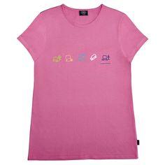 Girl's Terrain Icons T-Shirt