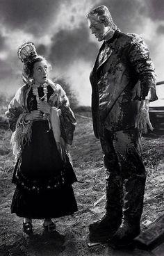 "Promo shot for ""The Bride of Frankenstein"""