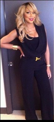 She is the definition of ghetto fabulous ! :) -Tamar Braxton