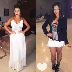 O i meus amores, tudo bem com vocês  ♥  ?Hoje vou mostrar alguns looks da Flávia Pavanelli ♥    Flávia Martinez Pavanelli mais conhec...