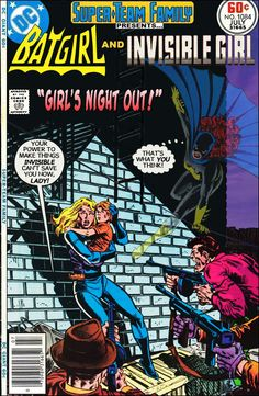 Super-Team Family: The Lost Issues!: Batgirl and Invisible Girl