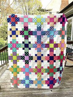 Patchwork Even-Steven Quilt Pattern - Now Available Star Quilts, Scrappy Quilts, Easy Quilts, Denim Quilts, Patchwork Quilting, Patch Quilt, Quilt Blocks, Blog Art, History Of Quilting