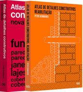 Combo 2 livros Atlas de Detalhes Construtivos R$349,00