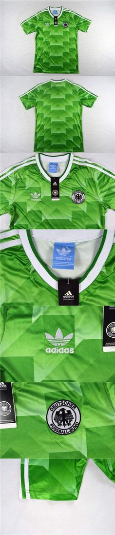 9c74cb04c 1988-1990  westernfashion  germany  retro Away  green  soccer  jersey