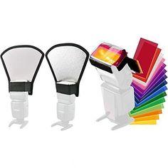 Toazoe Two-Sides Flash Diffuser Softbox Silver/White Reflector +12pc Strobist Flash Color Card for Canon Nikon Pentax Yongnuo Godox Sony Sigma Nissin Sunpak Speedlite Toazoe http://www.amazon.com/dp/B011YVF40E/ref=cm_sw_r_pi_dp_dBqBwb160NFH9