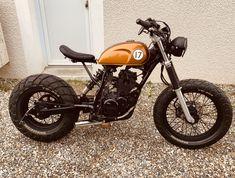 Brat Bike, Cafe Racer Motorcycle, Moto Bike, Motorcycle Design, Cafe Racer Honda, Cafe Bike, Cafe Racer Bikes, Custom Cafe Racer, Custom Bobber