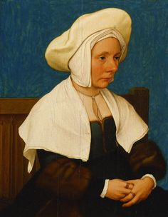 A Woman, Hans Holbein the Younger, 1532/1534