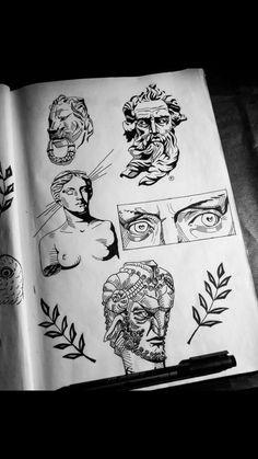 Art Sketchbook Inspiration Sketch – Art World 20 Inspiration Art, Sketchbook Inspiration, Art Inspo, Journal Inspiration, Illustration Design Graphique, Illustration Art, Drawing Sketches, Art Drawings, Tattoo Sketches