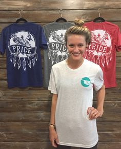 Oklahoma Pride T-shirt. S-XXL $32 www.countrylace.co* Free Shipping*