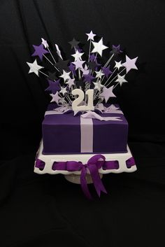 Johnny's 21st Birthday by Designer Cakes By Effie, via Flickr