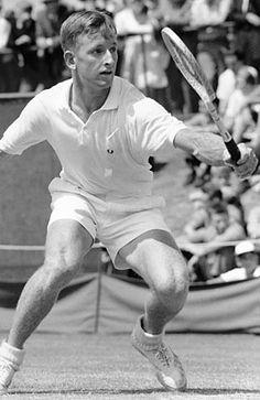 Rod Laver  Australian champion 1960, 1962, 1969.