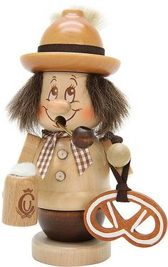 German Incense Smoker mini gnome Bavarian  145cm  57inch  Christian Ulbricht -- Check this awesome product by going to the link at the image.